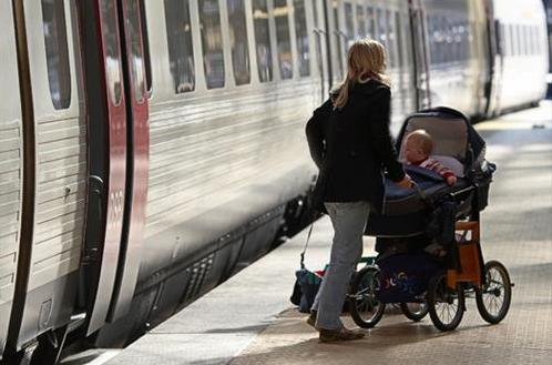 Comment rendre plaisant un voyage en train avec bébé ?