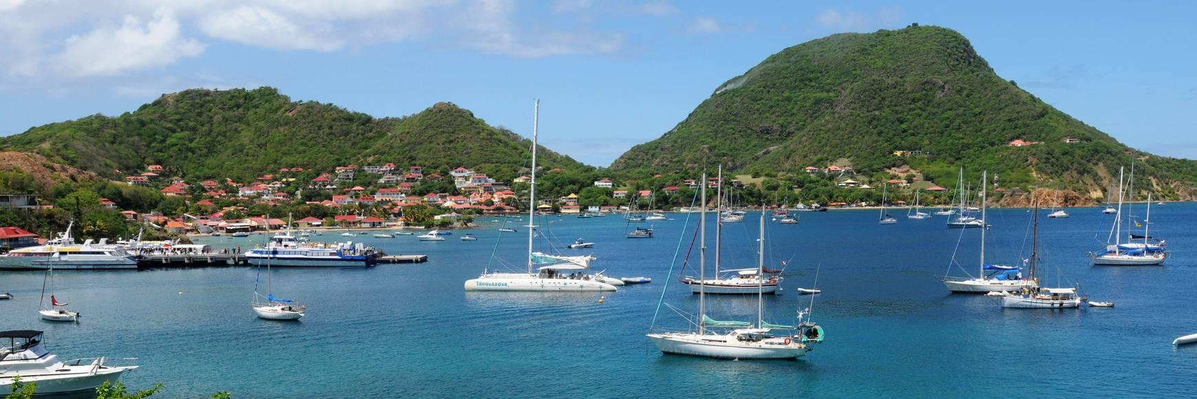 Faire une excursion en bateau en Guadeloupe