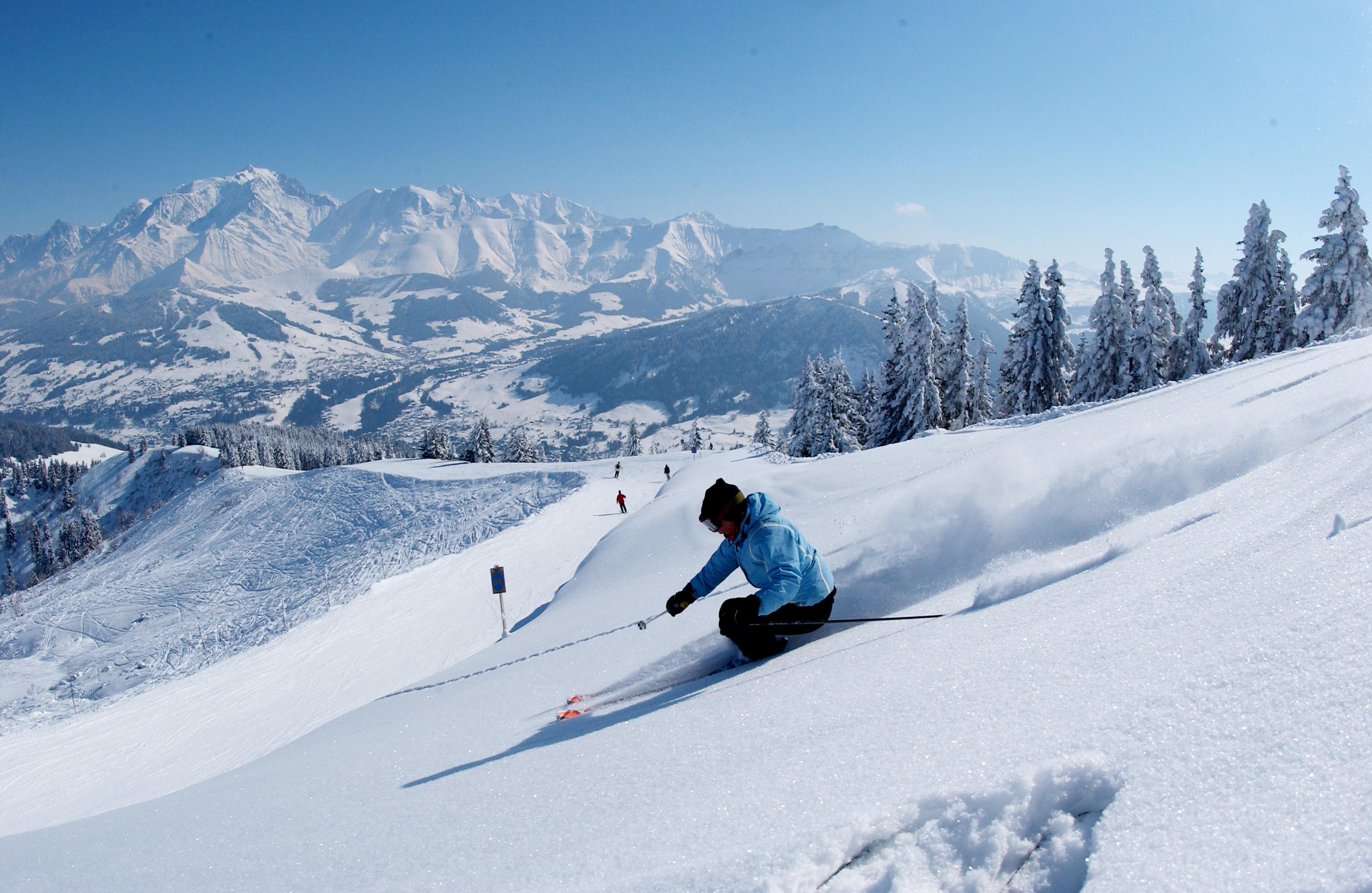 Partir à Megève pour s'initier au ski