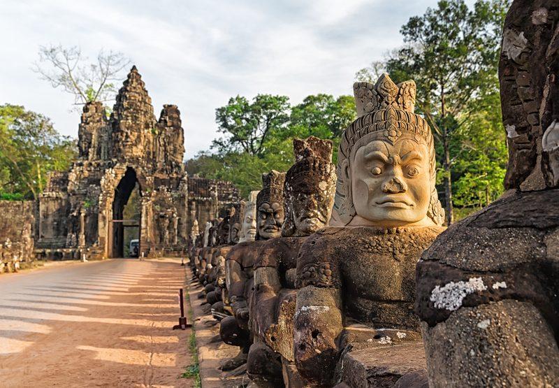 A la découverte des temples d'Angkor, au Cambodge